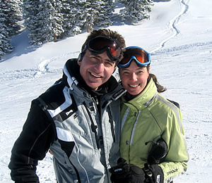 Jonathan and Ellen Marmur